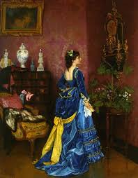 Thoughts On The Blog How To Re Create This Dress 1872 Blue