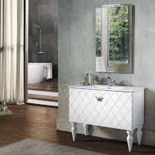 bluelife boden badezimmer zusammensetzung cocò mit waschbecken und led spiegel l 102x47 cm