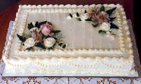 Interesting Design Wedding Sheet Cake Ideas Classy Accessories Cakes Decorated With Flowers My
