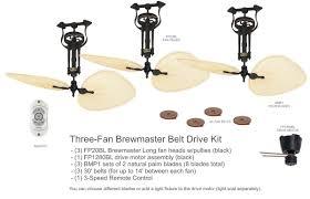 elegant stock of belt driven ceiling fans furniture designs