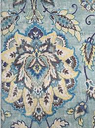 Cynthia Rowley Jacobean Floral Curtains by New Cynthia Rowley Floral 2 Linen Curtain Window Panels Blue