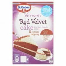dr oetker verwen velvet cake mix 293g ebay