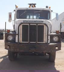 Right Size Trucks For 825 Deck by 1974 International Paystar 5000 Semi Truck Item H1944 So
