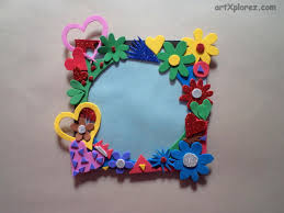 Photo Frame Using Craft Foam Artxplorez