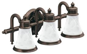 Oil Rubbed Bronze Bathroom Accessories by Moen Yb9863orb Waterhill 3 Light Bathroom Fixture Oil Rubbed