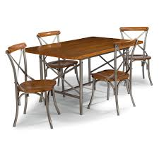 Home Styles Orleans 5-Piece Carmel Cherry Dining Set 5061-318 - The ... Set Of Two Mid Century Modern Accent Chairs In Blonde Oak And Black Find More Table With Leaf 4 150 Poos New Price Shop Copper Grove Siuslaw Finished Ding Chair 2 Riga 5 Pce Suite Focus On Fniture Simpli Home Draper 7piece With 6 Upholstered Crown Range Ltd Scanstywheorblackdingchairwithnaturaloaklegs New Nord 79500 Port Extendable By Harry Ostergaard The Vintage Room Room Ideas Ladder Back