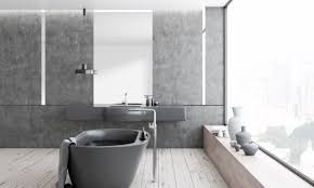 House Renovation Trends For 2019 And Beyond | RA Paul Modern Bathroom Small Space Lat Lobmc Decor For Bathrooms Ideas Modern Bathrooms Grey Design Choosing Mirror And Floor Grey Black White Subway Wall Tile 30 Luxury Homelovr Bathroom Ideas From Pale Greys To Dark 10 Ways Add Color Into Your Freshecom De Populairste Badkamers Van Pinterest Badrum Smallbathroom Make Feel Bigger Fascating Storage Cabinets 22 Relaxing Bath Spaces With Wooden My Dream
