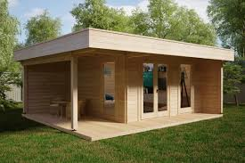 100 Modern Summer House Hansa Lounge XL With Veranda 145m 44mm 6 X 5 M