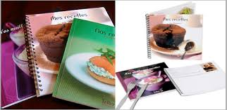 creer un livre de recette de cuisine idée cadeau de noël créer un livre de recettes personnalisé avec