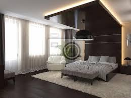schlafzimmer in einem privaten haus in braun und beige farben bilder myloview