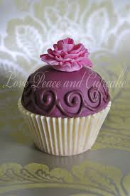 Vintage Cupcake By Love Peace And
