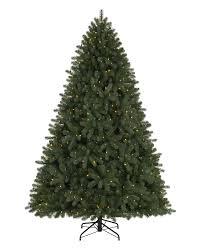 Pre Lit Flocked Christmas Tree by 9 Ft Royal Douglas Fir Clear Lit Tree Christmas Tree Market