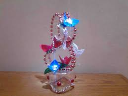 Love Plastic Bottle Snowflakes Craft Ideas Country Handicraft Items From Waste Material Crafts