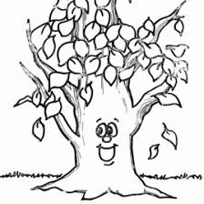 Bare Tree Coloring Page AZ Pages