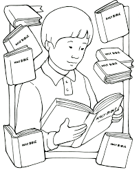 Trust In Jesus Coloring Page