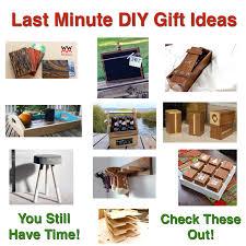 Diy Gift Ideas Last Minute Woodworking