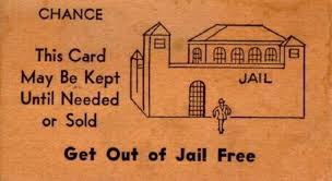Get Out Jail Free Card Graph