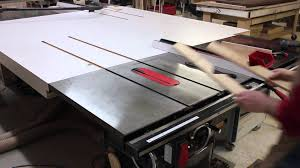 Sawstop Cabinet Saw Used by Making A Spline Jig On Your Sawstop Table Saw Youtube