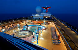 carnival paradise review u s news best cruises