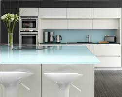 Back Light Modern Kitchen Glass Counter And Table Top In Irelandpng