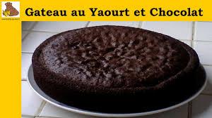 recette de cuisine gateau au yaourt gateau au yaourt et chocolat recette rapide et facile