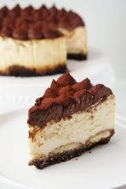 tiramisu cheesecake mit mascarpone quark creme cheesecake