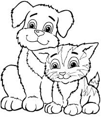 New Printable Animal Coloring Pages 94 For Line Drawings With