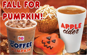 Dunkin Donuts Pumpkin Muffin Release Date by Themeparkmama October 2014