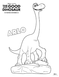 Printable The Good Dinosaur Coloring Pages Free Online Print Out For Kids Activities Preschoolers
