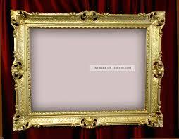antyki i sztuka wandspiegel barock gold antik 90x70cm repro
