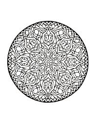 Ideas Of Printable Mystical Mandala Coloring Book Pdf About Download