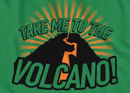 take me to the volcano joe versus the volcano tom hanks