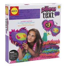 ALEX Toys Craft Pillow Text LUV AlexBrands