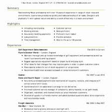 Resume Objective Examples Customer Service 2018 Puter Skills For New Business