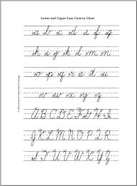 A to Z Cursive Letters
