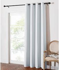pony wohnzimmer gardinen grau weiß 1 stück h 210 x b 132 cm vorhang verdunkelung schlafzimmer gardinen und vorhänge blickdicht ösenvorhang