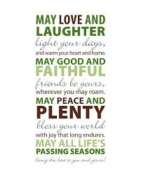 Love Light Laughter And Chocolate by Irish Blessing May Love And Laughter Light Your Days 8x10