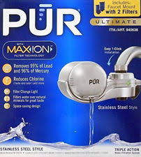 Pur Faucet Mount Refills by Niob Pur Ultimate Water Filter Faucet Mount With Max Ion