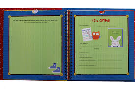 School Years Personalized 24 Pocketful Of Memories Book Album With Hardcover