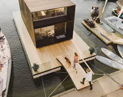 100 Boat Homes Small Prefab Floating Home By KODA Prefab Modular And