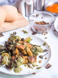 Sprout Pumpkin Seeds Recipe by Gluten Free Gnocchi Recipe With Pumpkin Pesto And Roasted Veggies