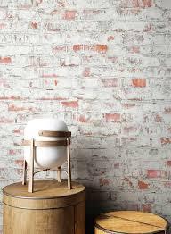 newroom vliestapete steintapete weiß rot ziegelstein backstein mauerwerk klinker tapete steinoptik wohnzimmer schlafzimmer flur tapete steinoptik