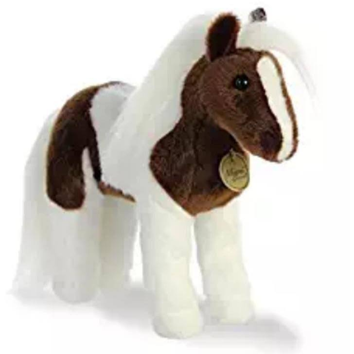Aurora World Miyoni Plush Toy Animal, Paint Horse, 12""