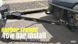 Harbor Freight Adjustable Tow Bar Install - Towing My EF Civic B20B ... F165q Witter Detachable Tow Bar Supplied And Fitted On A Ford Kuga Towbars Truck Commercial Custom Build A Frames Car Van Tow Bars From Clarkson Vehicles The Best 13 Pin Trailer Plug Australia Has To Offer Towing Types Their Differences Bars For Trucks Amazoncom Light Truck Towbars Isp Islington Disaster Avoidance With Flattowing Basics Mitsubishi Triton Mn Rear Protection 11090415 Formula 7 Tips Safer Towing Step Towbars In Johannesburg Selite Metal Products