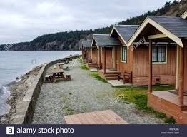 Rental Cabins On Beach At Cama State Park Washington USA