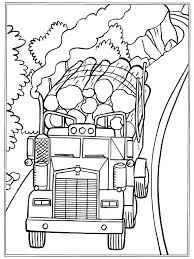 Coloring Page Trucks On Kids N Funcouk
