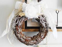 Rustic Christmas Wreath Door Holiday Decoration