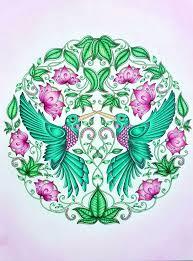 Artwork By Johanna Basford Coloring Emily Laughlin BooksColouringHummingbirdsSecret GardensGarden