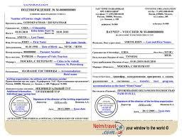 Visa Invitation Letter for Russian Visa Nelmitravel