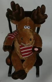 Buy Plush Animated Rocking Chair Reindeer Singing